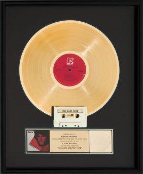 Doors Greatest Hits Riaa Gold Record Award (elek
