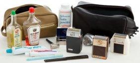 A John Wayne Set Of Toiletry Bags And Items, 196