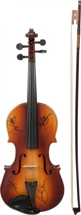 Alabama Signed Fiddle (1996). An Anton-breton Mo