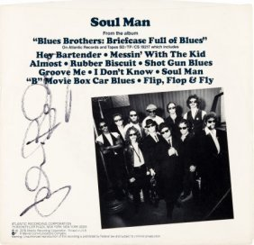 "Blues Brothers - John Belushi Signed ""soul Man"""