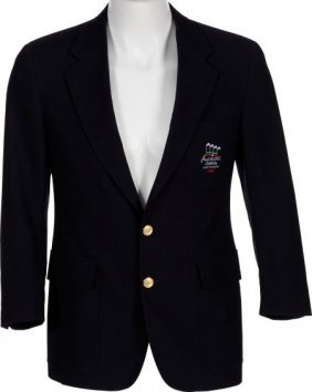 A Frank Sinatra-related Jacket, 1990. Navy Blue