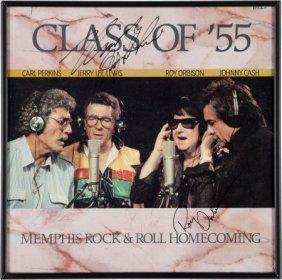 Johnny Cash, Jerry Lee Lewis, Roy Orbison, And C