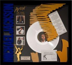 Michael Jackson Signed Platinum Limited Edition