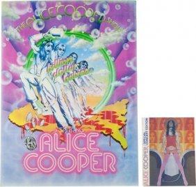 Alice Cooper Billion Dollar Babies Vintage Tour