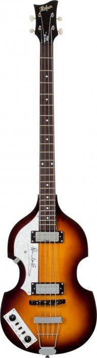 Beatles - Paul Mccartney Signed Hofner Bass Guit