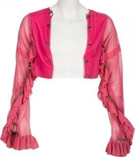 Alice Cooper - Neal Smith Worn Pink Bolero (circ