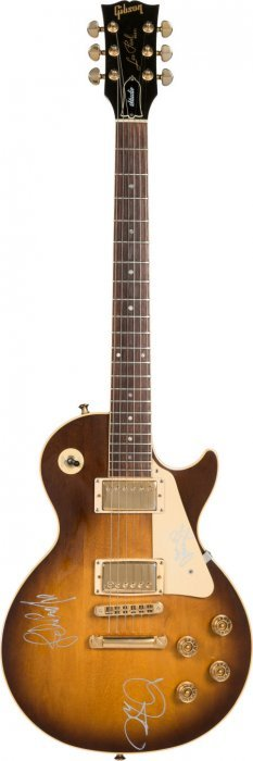 Led Zeppelin Signed 1987 Les Paul Guitar A Beaut