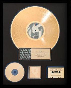 Rolling Stones Steel Wheels Riaa Gold Record Awa