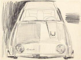 Andy Warhol (1928-1987) Avanti, 1962 Graphite On