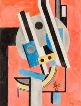 Fernand Léger (1881-1955) Composition, 1925 Wate