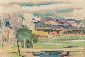 Victor Higgins (american, 1884-1949) Lower Hondo