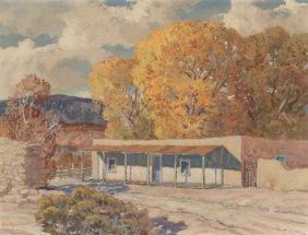 Carl Von Hassler (american, 1887-1969) Autumn In