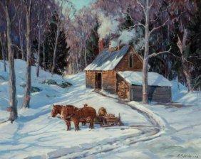 Aldro Thompson Hibbard (american, 1886-1972) Fir