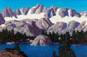 Conrad Buff (american, 1886-1975) Palisade Glaci