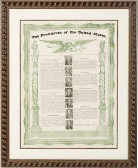 Andrew Jackson: Graphic Presidential Broadside.