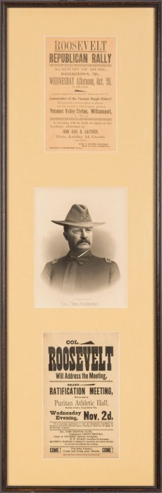Theodore Roosevelt: Campaign Handbill Presentati