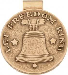 Dwight D. Eisenhower: Tiffany Liberty Bell Gold