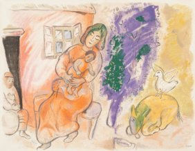 After Marc Chagall (1887-1985) Maternity, 1954 L
