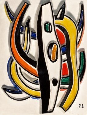 After Fernand Léger (1881-1955) Composition Abst