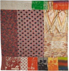 Robert Rauschenberg (1925-2008) Samarkand Stitch