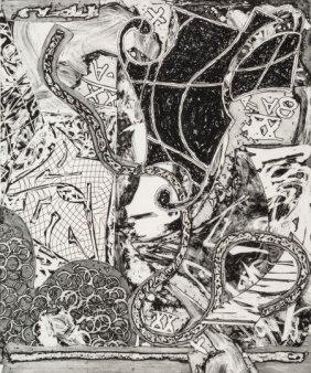 Frank Stella (b. 1936) Swan Engraving V, 1984 Et
