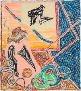Frank Stella (b. 1936) Shards I, 1988 Offset Lit