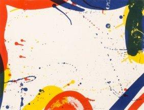 Sam Francis (1923-1994) Untitled, From Portfolio