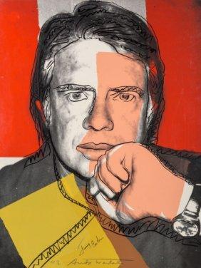 Andy Warhol (1928-1987) Jimmy Carter I, 1976 Scr