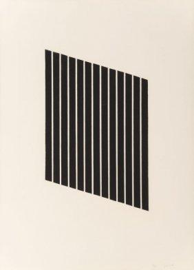 Donald Judd (1928-1994) Untitled, 1974 Aquatint