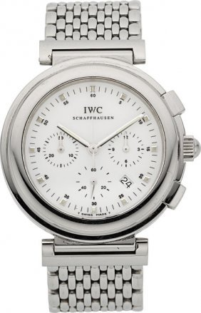 Iwc Da Vinci Sl Chronograph Case: Stainless Ste
