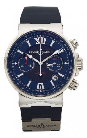 Ulysse Nardin Marine Chronograph Wristwatch No 0