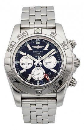 Breitling Chronomat Gmt Certified Chronometer Ch