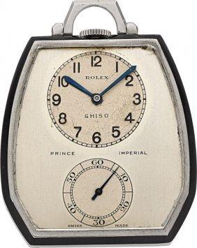 Rolex Prince Imperial Ref. 1585 Art Deco Pocket