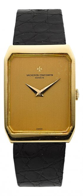 Vacheron & Constantin 18k Gold Wristwatch Ref. 3