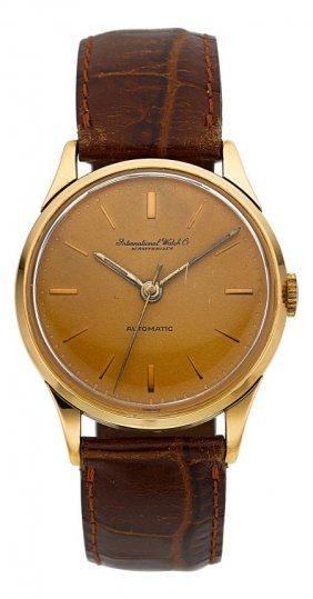 International Watch Co. 18k Rose Gold Automatic,