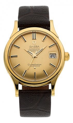 Omega Gold Constellation Automatic Chronometer,