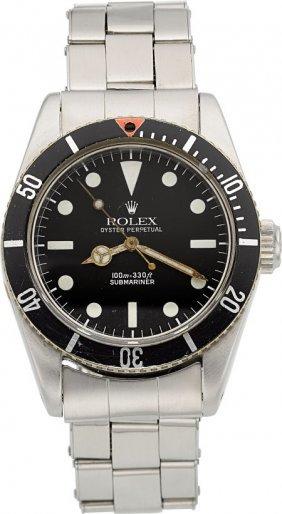"""Rolex Submariner Ref. 5510, """"james Bond"""" Big Cro"""