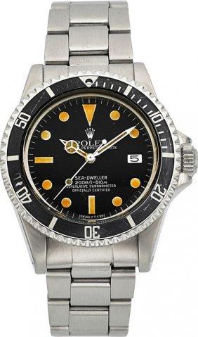 "Rolex Ref. 1665 ""great White"" Sea-dweller Oyster"