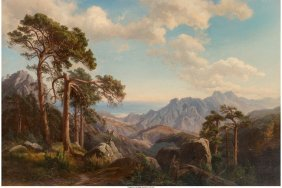 Carl Maria Nicolaus Hummel (german, 1821-1907) M