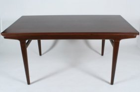 Johannes Andersen Teak Extension Dining Table