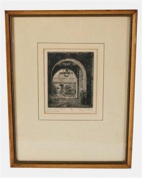 "Eugene E. Loving (1907-1971) ""bosque House..."""