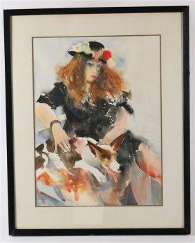Richard Jerzy (1944-2001) Untitled