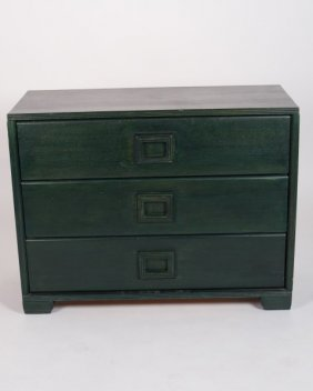 Possibly Tommi Parzinger Wooden Chest