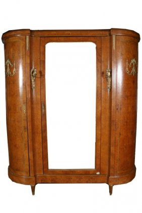 Wooden Armoire With Three Doors