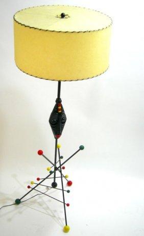 WEINBERG ERA RETRO MODERN FRENCH FLOOR LAMP