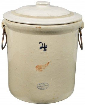 Red Wing 4 Gallon Lidded Crock
