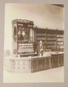 Early Drug Store Photograph