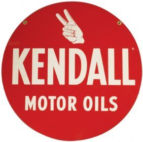 325 5 Gallon Kendall Oil Can Lot 325