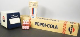 Collection of Pepsi Cola Items