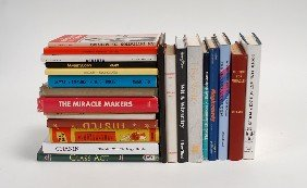 Collection Of 23 Hardbound Books About Magic Trick
